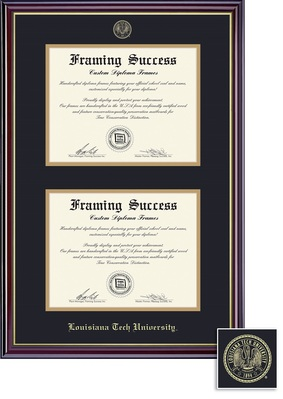Framing Success Windsor Double Diploma Frame