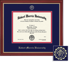 Framing Success Regal Diploma Frame Cherry Finish with Gold Accents