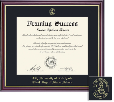 Framing Success Windsor Diploma Frame in Gloss Cherry Finish