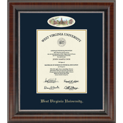 Church Hill Classics Campus Cameo Diploma Frame. Bachelors, Masters, PhD