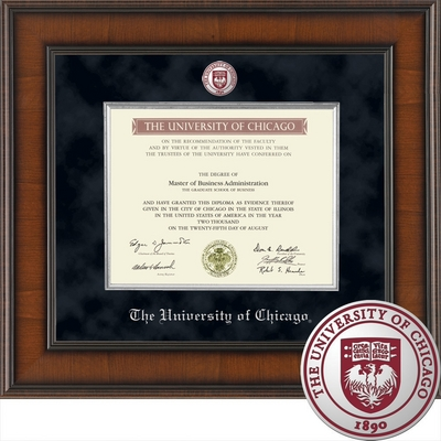 Church Hill Classics Presidential Diploma Frame. Bachelors, Masters, PhD. 2011 to Current