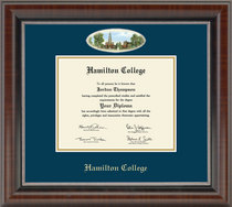 Church Hill Classics Campus Cameo Diploma Frame. Bachelors