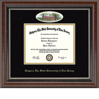 Church Hill Classics Campus Cameo 8.5x11 Diploma Frame