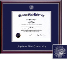Framing Success Jefferson Diploma Frame. Bachelors