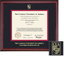 Framing Success Classic Law Diploma Frame