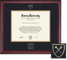 Framing Success Classic Theology Diploma Frame in a Burnished Cherry Finish