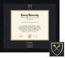 Framing Success Spirit Theology Diploma Frame, in a Contemporary Black Matte Finish