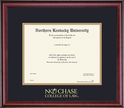 Framing Success Classic Law Diploma, in a Burnished Cherry Finish
