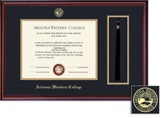Framing Success Classic Tassel Diploma Frame in a Burnished Cherry Finish