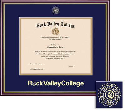 Rock Valley College Bookstore - Framing Success Academic Diploma ...
