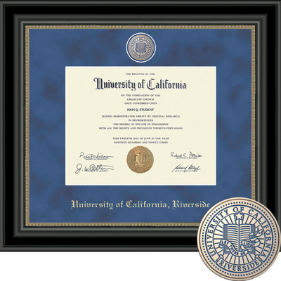 Church Hill Classics Regal Diploma Frame. Bachelors, Masters, PhD