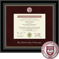 Church Hill Classics Regal Diploma Frame.  Bachelors, Masters, PhD 2011 to Current