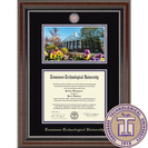 Church Hill Classics Campus Scene Diploma Frame.  Bachelors Masters PhD (Online Only)