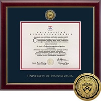 Church Hill Classics Engraved Diploma Frame. Associates, Bachelors, Masters, PhD.