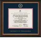 Church Hill Classics Embossed Murano Diploma Frame. Associates, Bachelors, Masters, PhD.