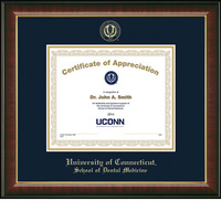 Church Hill Classics Embossed Murano Certificate Frame. Dental Medicine. Certificate Only.