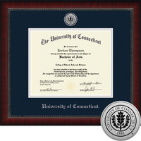 Church Hill Classics Engraved Diploma Frame. PhD.