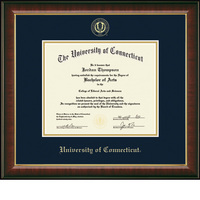 Church Hill Classics Embossed Diploma Frame. PhD.