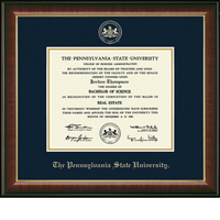 Church Hill Classics Embossed Murano Diploma Frame. Bachelors, Masters, PhD