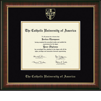 Church Hill Classics Embossed Murano Diploma Frame. PhD