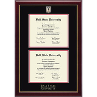 Church Hill Classics Double Document Diploma Frame. Bachelors, Masters (Online Only)