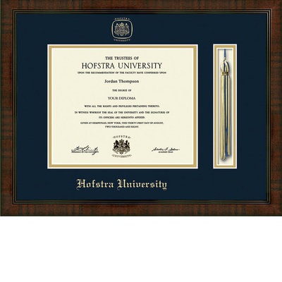 Hofstra University Bookstore Church Hill Classics Tassel Diploma