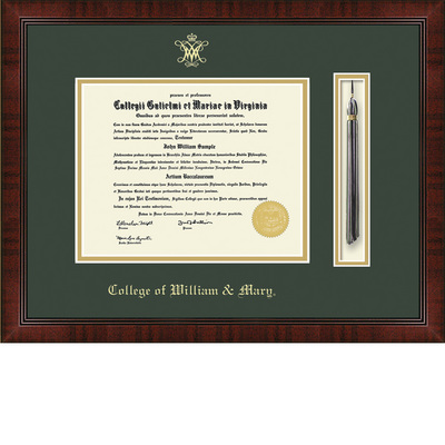Church Hill Classics Tassel Diploma Frame. Bachelors, Masters. (Online Only)