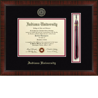 Church Hill Classics Tassel Diploma Frame. Bachelors, Masters, PhD (Online Only)