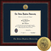 Church Hill Classics Engraved Diploma Frame. Bachelors, Masters, PhD