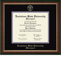 Church Hill Classics Embossed Murano Diploma Frame. Bachelors, Masters.