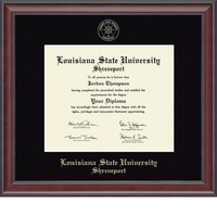 Church Hill Classics Embossed Studio Diploma Frame. Masters, PhD
