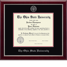 Church Hill Classics Embossed Black Diploma Frame. Bachelors, Masters, PhD