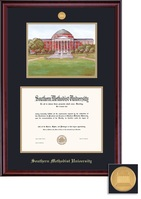 Framing Success BA Litho Classic Mdl Dip, Dbl Mat in rich burnished cherry finish
