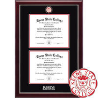Church Hill Classics Double Document Diploma Frame. Bachelors, Masters
