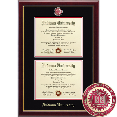 Church Hill Classics Double Document Diploma Frame. Bachelors, Masters, PhD (Online Only)