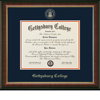 Church Hill Classics Embossed Murano Diploma Frame. Bachelors