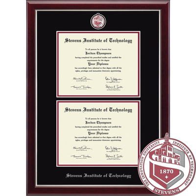 Church Hill Classics Double Document Diploma Frame. Bachelors Masters PhD (Online Only)