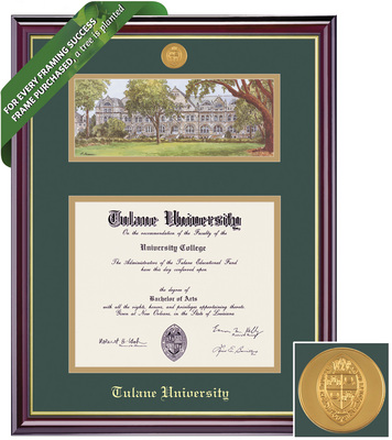 Framing Success Windsor Double Diploma Frame. Bachelors