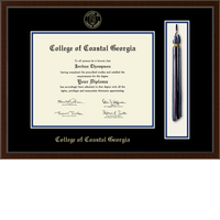 Church Hill Classics Tassel Diploma Frame. Associates, Bachelors (Online Only)