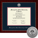 Church Hill Classics Engraved Diploma Frame.  Bachelors, Masters (Online Only)