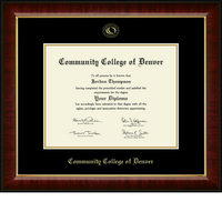 Church Hill Classics Embossed Murano Diploma Frame. Associates. (Online Only)