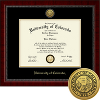 Church Hill Classics Engraved Diploma Frame.  Bachelors, Masters, PhD (Online Only)