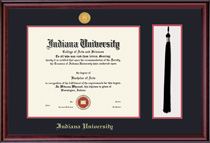 Framing Success Classic Medallion Diploma Tassel Double Matted Diploma Frame