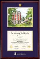 Framing Success Classic Medallion DiplomaMusic Litho Double Matted Diploma Frame, Masters