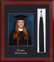 Framing Success Keepsake PhotoTassel Single Black Matted In Burnished Cherry Finish