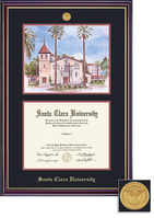 Framing Success Windsor DiplomaLitho Medallion Double Matted Diploma Frame