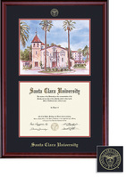 Framing Success Classic Law Diploma Frame in a Burnished Cherry Finish