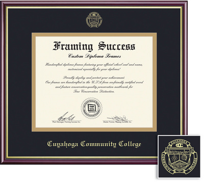 TriC Western Bookstore - Framing Success Academic Diploma Frame in ...