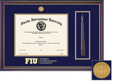 Framing Success FIU Bachelor Windsor Tassel Degree Frame