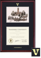 Framing Success Classic Double Matted Diploma, Litho Frame. Bachelors or Masters